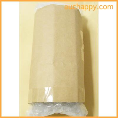 ガラス瓶を段ボール紙で包む