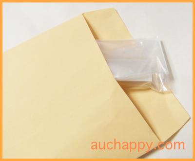 消しゴムを封筒に入れて郵送します。