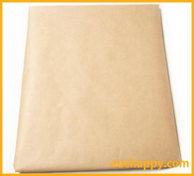 色紙を包装紙で巻いて郵送します。