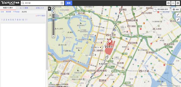 Yahoo!地図でpaypay加盟店