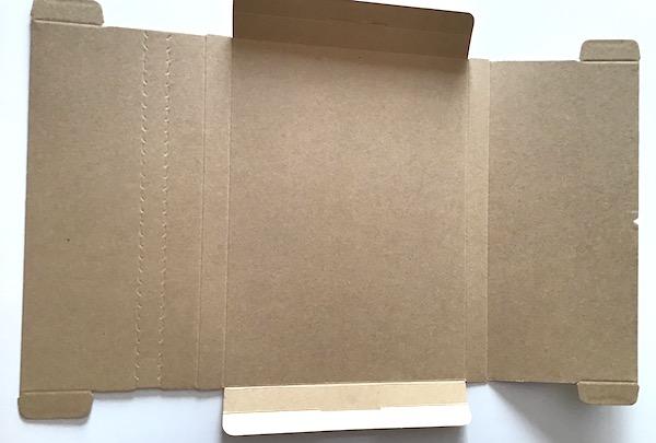 ネコポスダンボール箱の組み立て方3