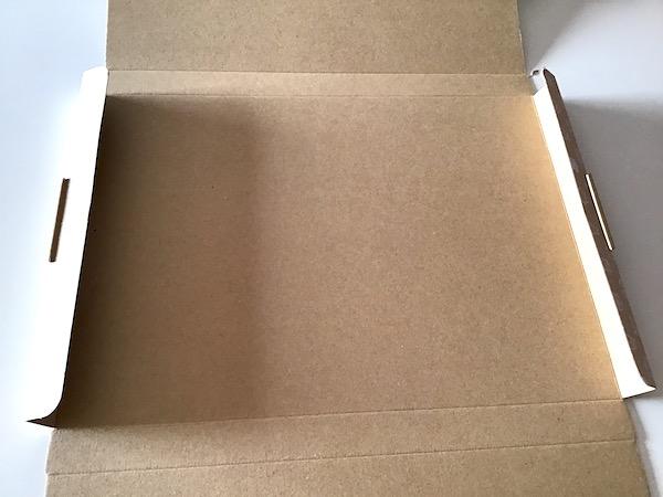 ネコポスダンボール箱の組み立て方4