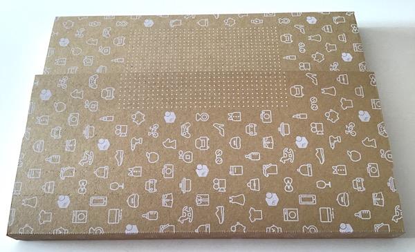 ネコポスダンボール箱の組み立て方8