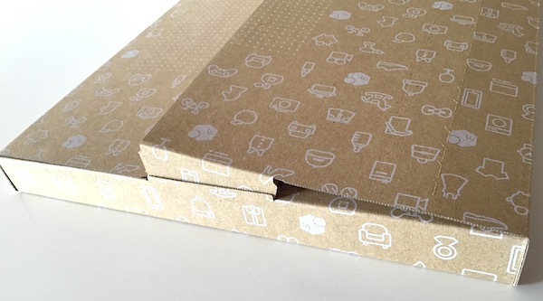 ネコポスダンボール箱の組み立て方9