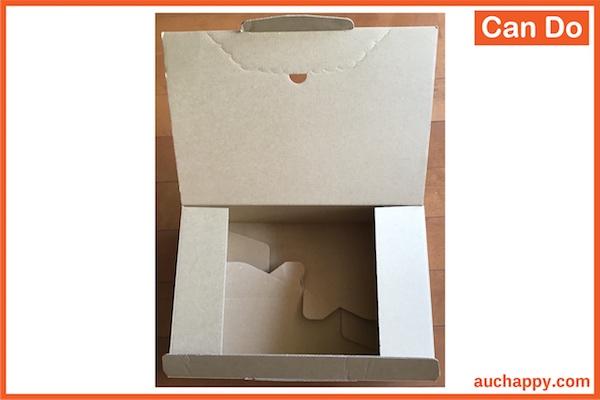キャンドゥ(100均)の60サイズ・ダンボール箱4