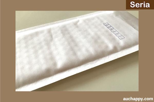 セリア・クッション封筒SSサイズ3